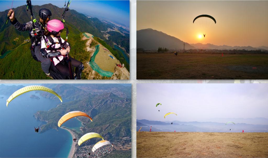 极限运动-滑翔伞