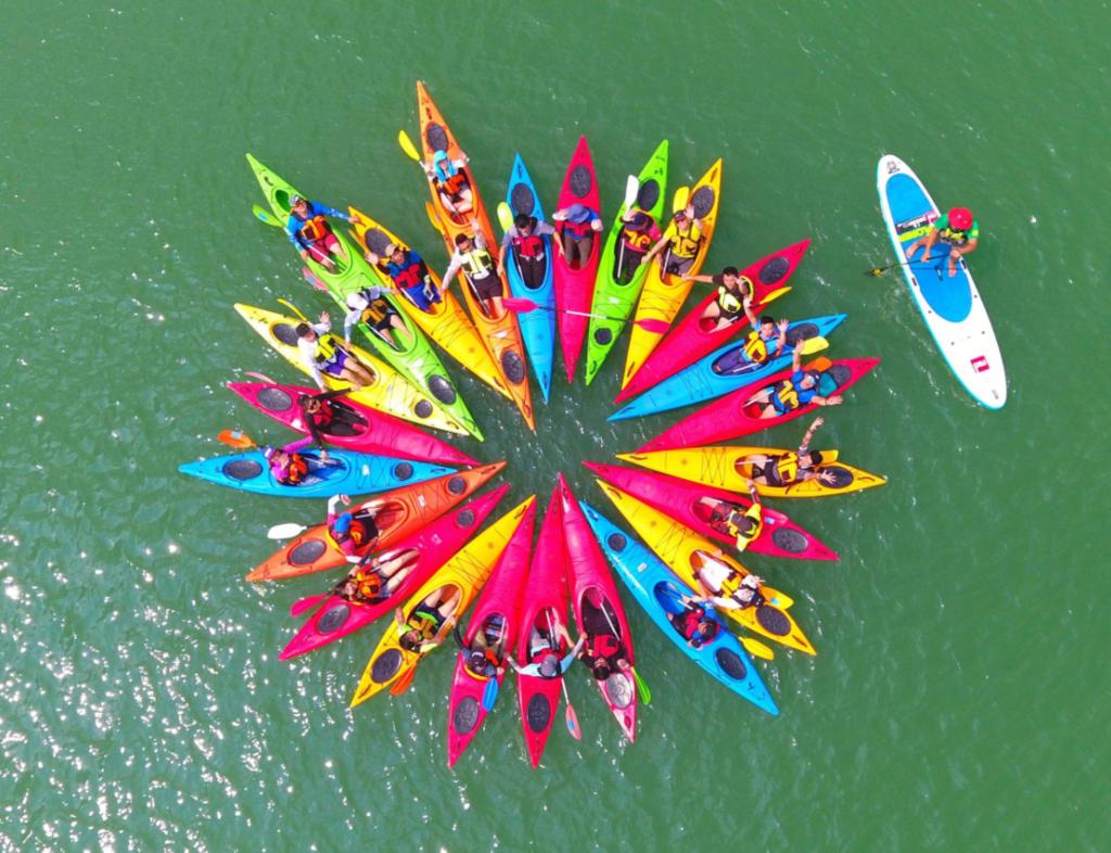 皮划赛艇(皮筏艇)-苏州水上拓展项目-苏州团建公司-户外拓展培训-团队拓展训练活动