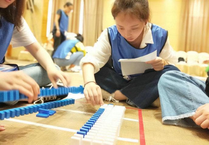 [多米诺]主题团建——全心投入,收获成功-苏州团建公司-户外拓展培训-团队拓展训练活动